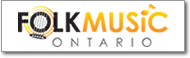 Button image of the Folk Music Ontario logo that links to the Folk Music Ontario website